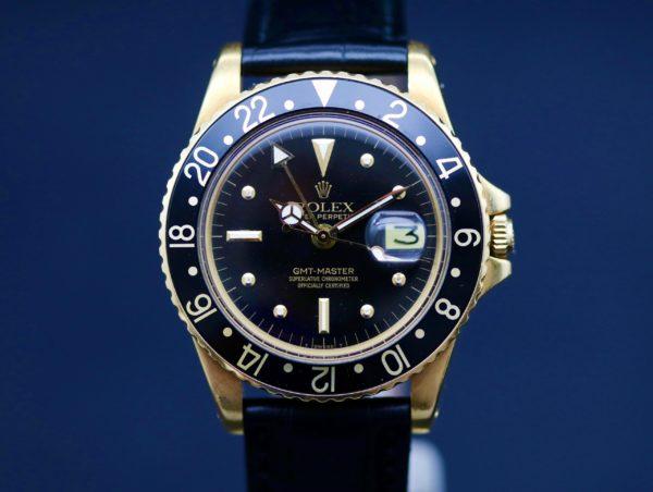 ROLEX GMT-MASTER REF.1675/8 18 KT. GOLD