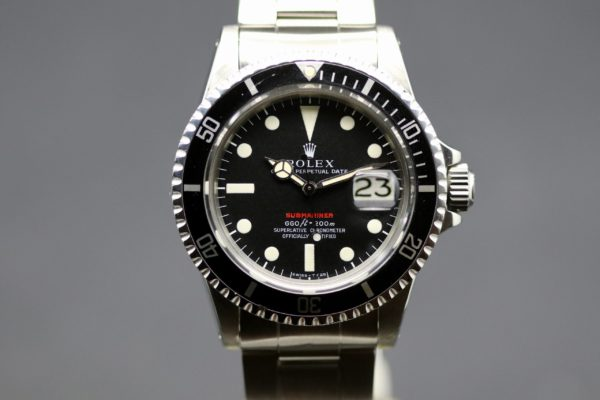 "ROLEX SUBMARINER REF.1680 MK4 ""REDSUB"""